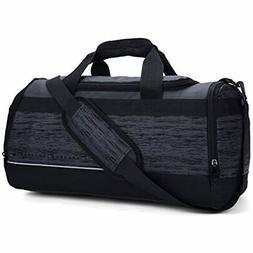 MIER 20 Inch Gym Bag With Shoe Compartment Men Duffel Bag, M