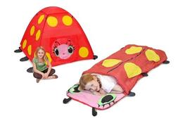 Melissa & Doug Girls Mollie Outdoor Bundle - Tent & Sleeping