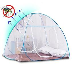 Pop Up Mosquito Dense Net Guard Folding Attached Bottom with