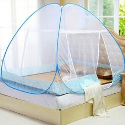 Mosquito Net Folding Bed Free Standing Tent Single Door Nett