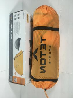TETON Sports Mountain Ultra 1 Person Tent; Backpacking Dome