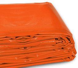 20-Foot by 30-Foot Multi-Purpose 100% Waterproof Orange Heav