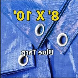 8 X 10 Blue Multi-purpose 6-mil Waterpro