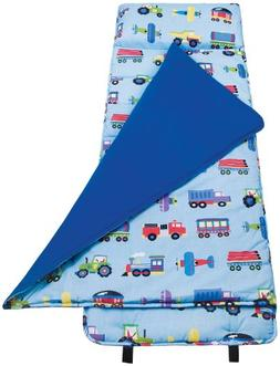 Wildkin Nap Mat - Olive Kids Planes, Trains & Trucks