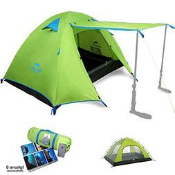 Topnaca Naturehike 2 3 4 Person 3 Season Backpacking Tents C