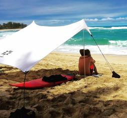 Neso Tents Beach Tent with Sand Anchor Portable Sun UV Shelt