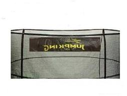 Bazoongi NET15-JP5-7JK 15 ft. Enclosure Netting with 5 Poles