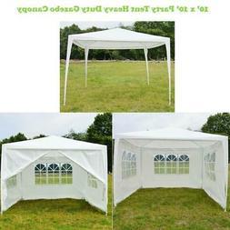 New 10'x10' Canopy Party Wedding Tent Heavy duty Gazebo Pavi
