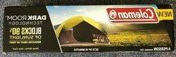 New Coleman 4-person Dark Room Sundome Tent Green New Blocks