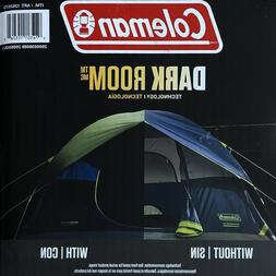 NEW Coleman Camping Dark Room 6 Person Fast Pitch Dome Tent