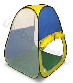 NEW PORTABLE FOLDING POP UP PLAY TENT CHILDRENS KIDS PLAYHOU