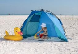 New! ABO Gear Rapido Cabana. Portable Beach Shelter. Pop Up