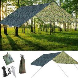 New Tent Tarp Rain Sun Shade Hammock Shelter Waterproof Camp