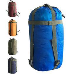 Nylon Compression Bedding Travel Portable Camping Sleeping B