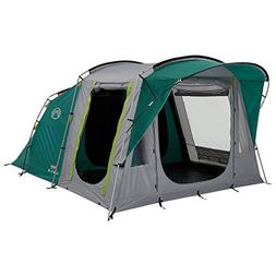 Coleman Oak Canyon 4 Tunnel Tent - 4 Person, Green, with Bla