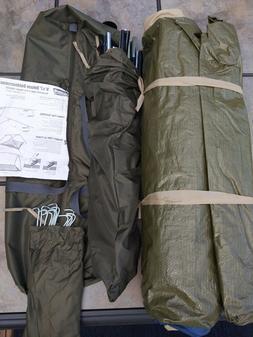 Olive Green Coleman 9x7 Deluxe Outdoorsman Tent Model: 9480-