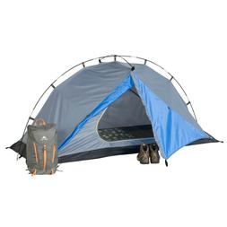 Ozark Trail One Person Backpacking Tent with Front Vestibule