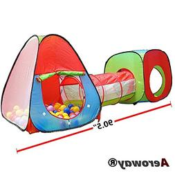 Aeroway One Square Cubby-One Triangle Cubby-One Tunnel 3 in