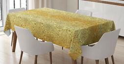 Oriental Tablecloth Ambesonne 3 Sizes Rectangular Table Cove