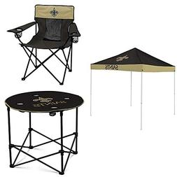 New Orleans Saints Tent, Table and Chair Package