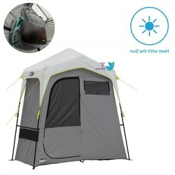OUTDOOR CAMPING TENT 2 PERSON SOLAR HEATED SHOWER TENT FOR S