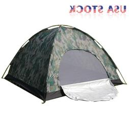 Outdoor Camping Waterproof 4 Season 2 Person Folding Tent Ca