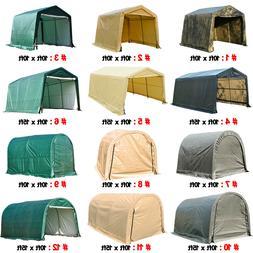 Outdoor Canopy Carport Tent Car Shelter Garage Storage Shed