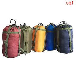 Outdoor Compression Tent Sleeping Bag Bedding Stuff Sack Cam