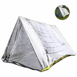 Outdoor Emergency Camping Tent Safety Survival Shelter Comfo