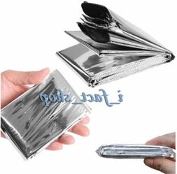 Outdoor Emergency MYLAR Survival Blanket Rescue First-Aid Ca
