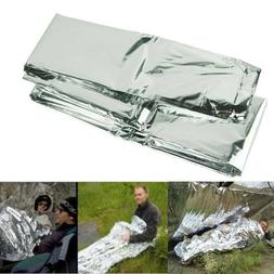 Outdoor Emergency Tent Blanket Thermal Heat Survival Safety