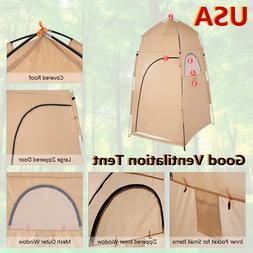 Outdoor Shower Tent Portable Camping Bath Toilet Beach Dress