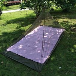 Outdoor Survival Triangle Pyramid Mosquito Net Tent Sleeping