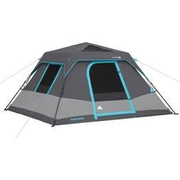 Ozark Trail 6-Person Dark Rest Instant Cabin Tent, Includes