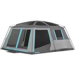 Ozark Trail 14' x 12' Half Dark Rest Frp Cabin Tent, Sleeps