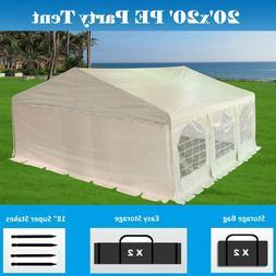 SALE $$$ 20'x20' PE Party Tent - Heavy Duty Carport Canopy C