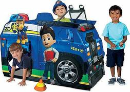 """Paw Patrol Playhut Chase Police Truck Hut Play 39"""" Tall Tent"""
