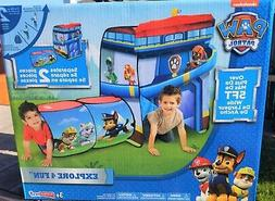 Paw Patrol Playhut Popup Tent Kids Playhouse Tunnel Explore