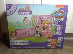 Paw Patrol Playhut Purple Explore 4 Fun Play Tent New in Box