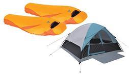 High Peak USA Alpinizmo 2 Latitude 0F Sleeping Bags + Moffit