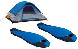 Alpinizmo High Peak USA 2 Extreme Pak 0F Sleeping Bags + 5 M