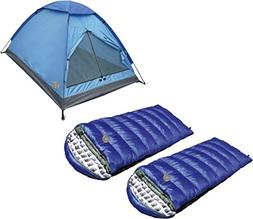 Alpinizmo High Peak USA 3 Tent Combo Set, Blue, Regular