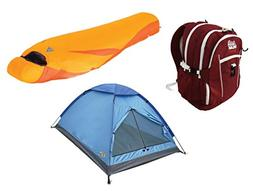 Alpinizmo High Peak USA Latitude 0 Sleeping 3 Tent & Vector
