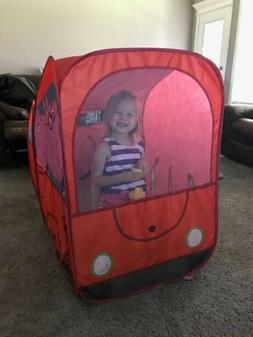 Peppa Pig Play Hut Tent Tunnel Easy Set Up 4 Feet Playhouse