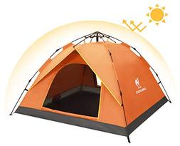 Camel 2-3 Person Family Automatic Hydraulic Tent Instant Pop