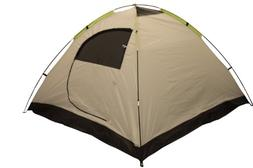 ALPHA CAMP 4 Person Camping Tent with Mud Mat - Dome Design