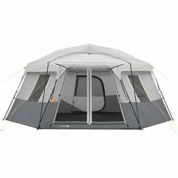 Ozark Trail 17' x 15' Person Instant Hexagon Cabin Tent, Sle