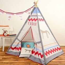 Personalized Children's Kids Teepee Wigwam - Native North Am