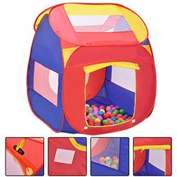 Kid Play House Toy Tent with 100 Balls Portable