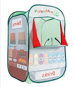 Alvantor Kids Tent Drinks & Bakery Puppet Theater Kitchen Pl